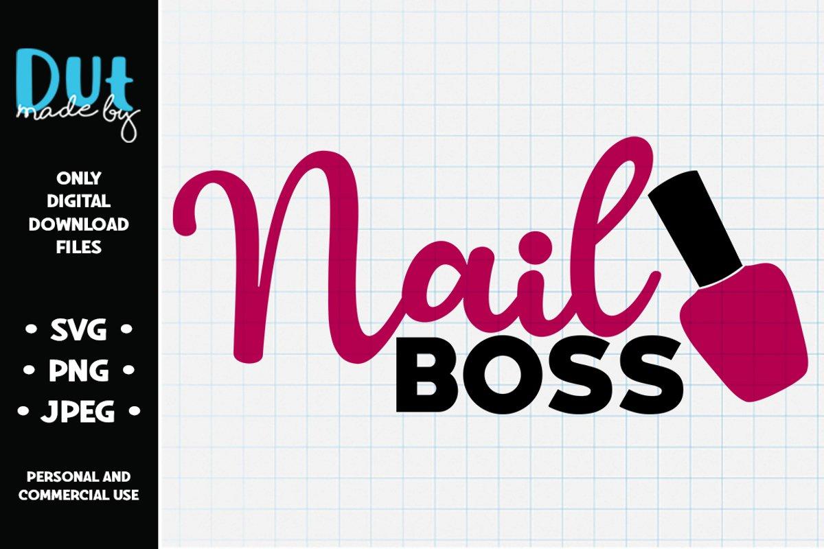 Nail Boss SVG example image 1