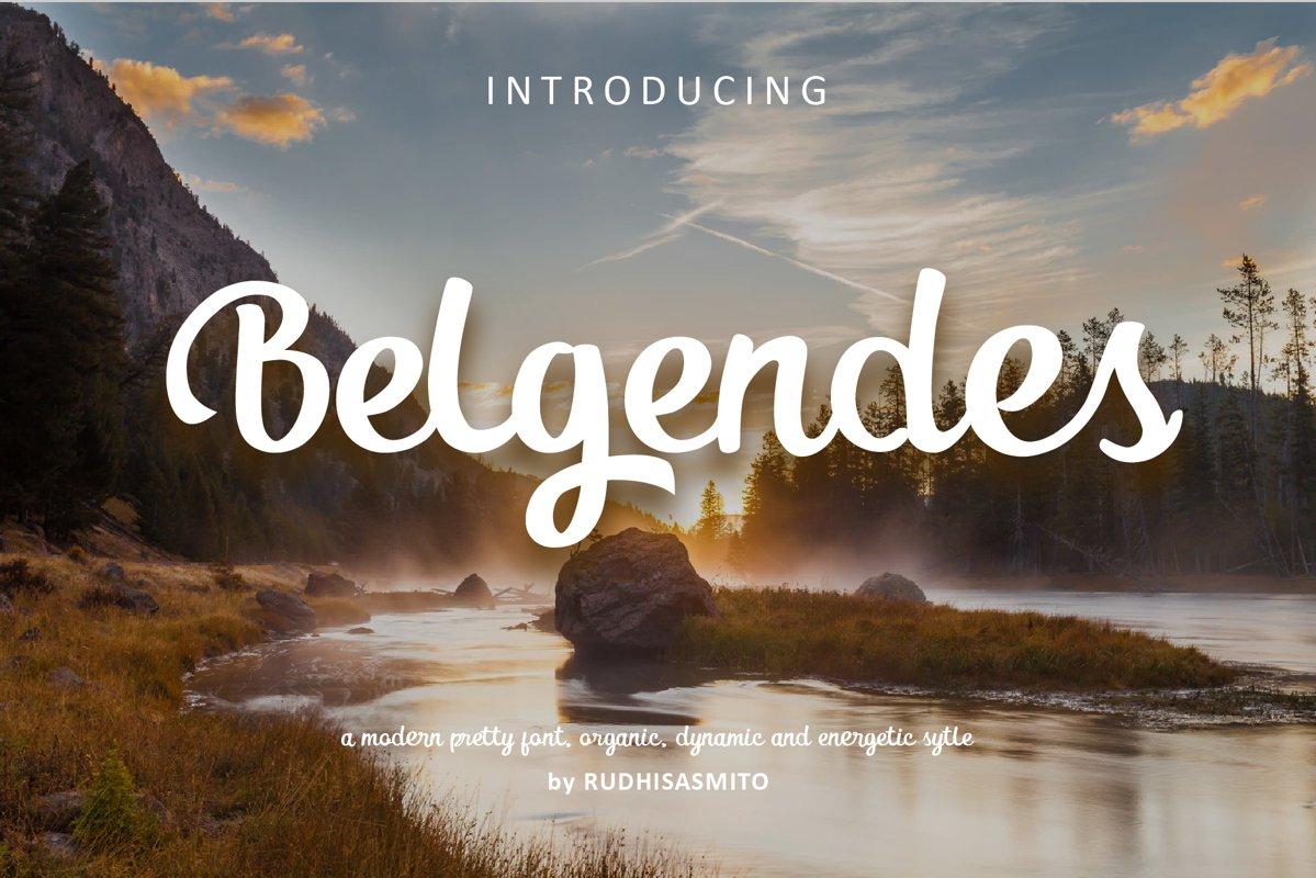 Belgendes Script example image 1