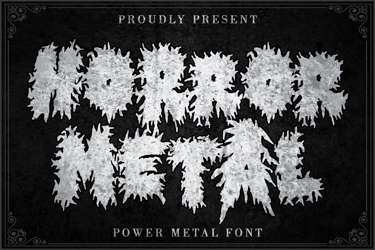 Horror Metal example image 1