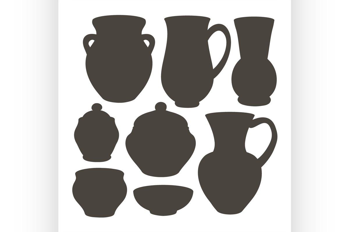 Rustic ceramic utensils example image 1