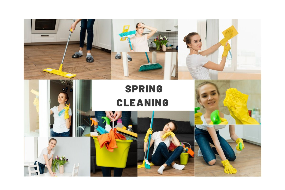 10 photos of house cleaning. Spring cleaning. example image 1