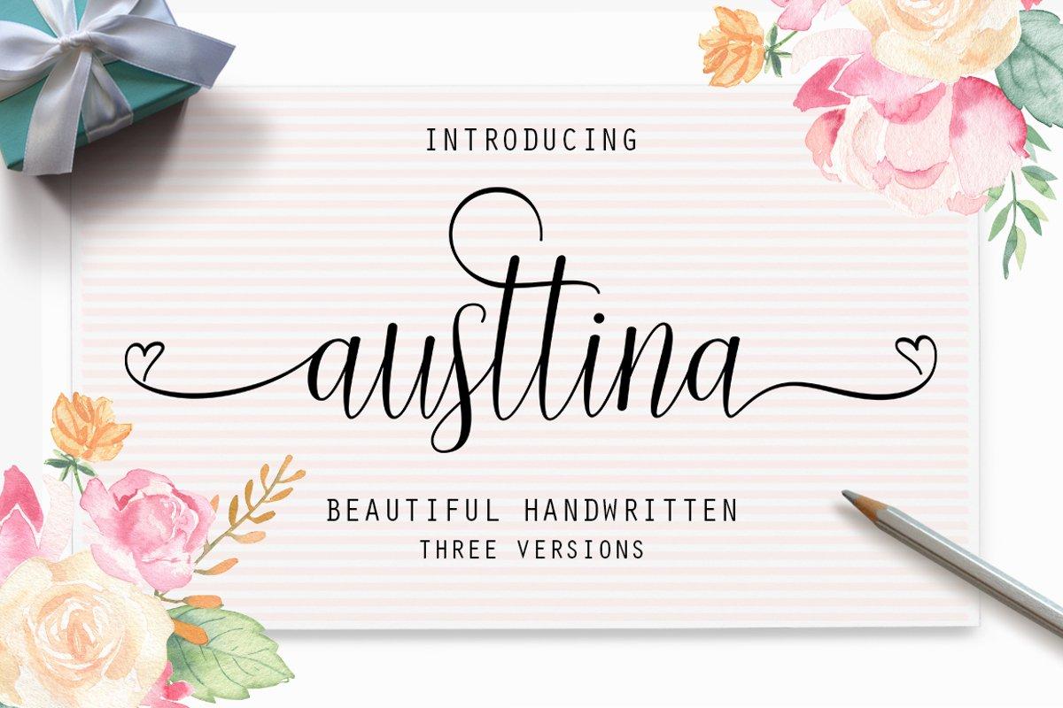 Austtina script example image 1