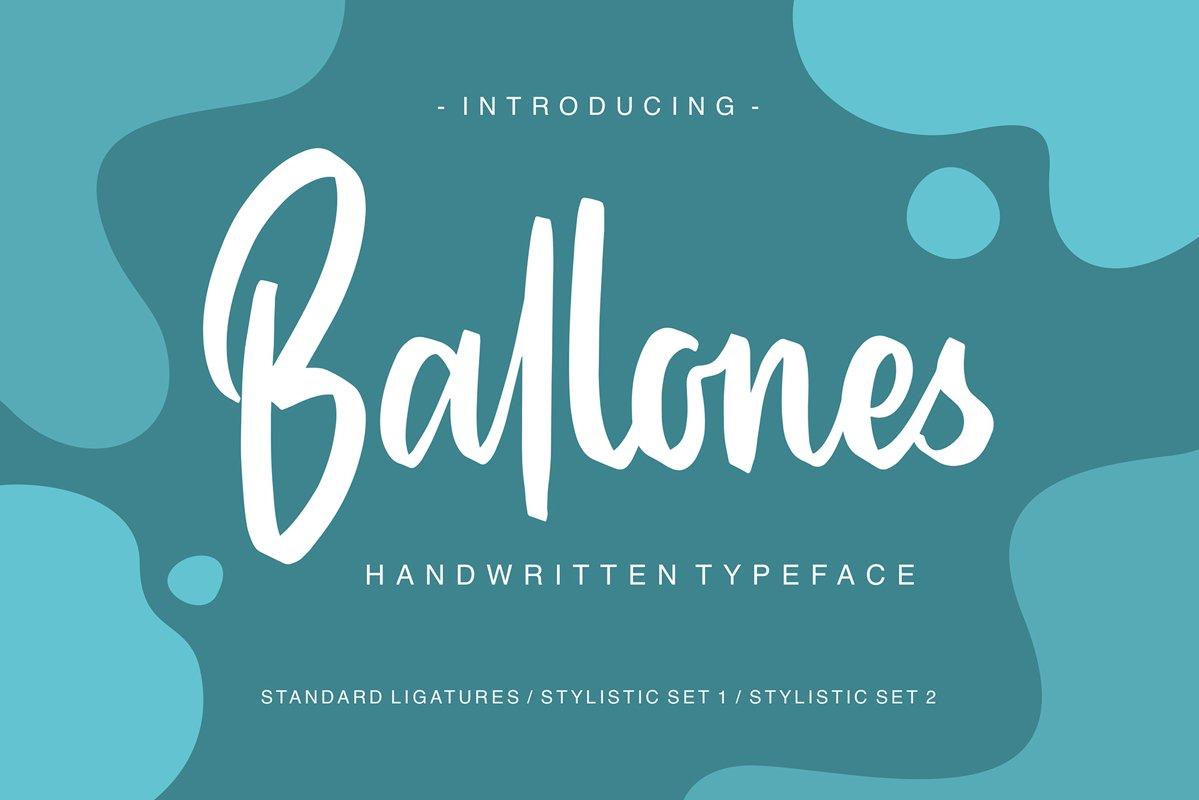Ballones Script example image 1