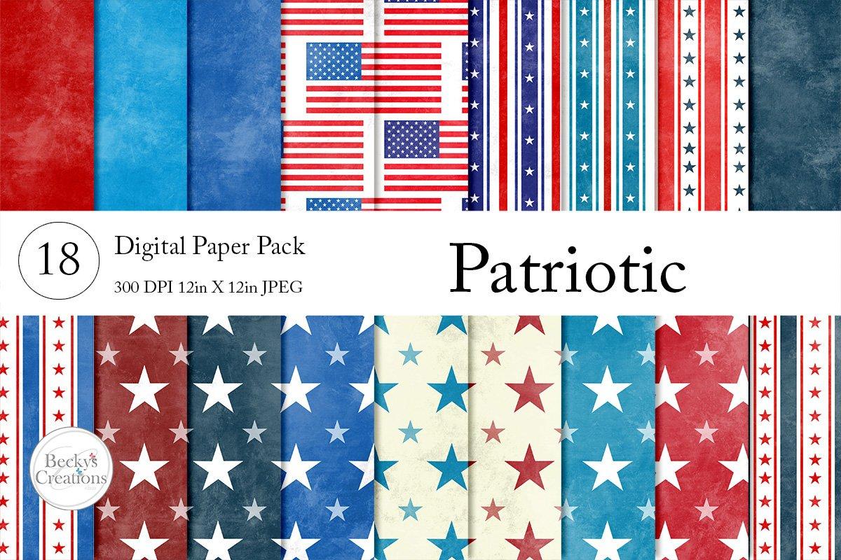 Patriotic Paper Pack example image 1