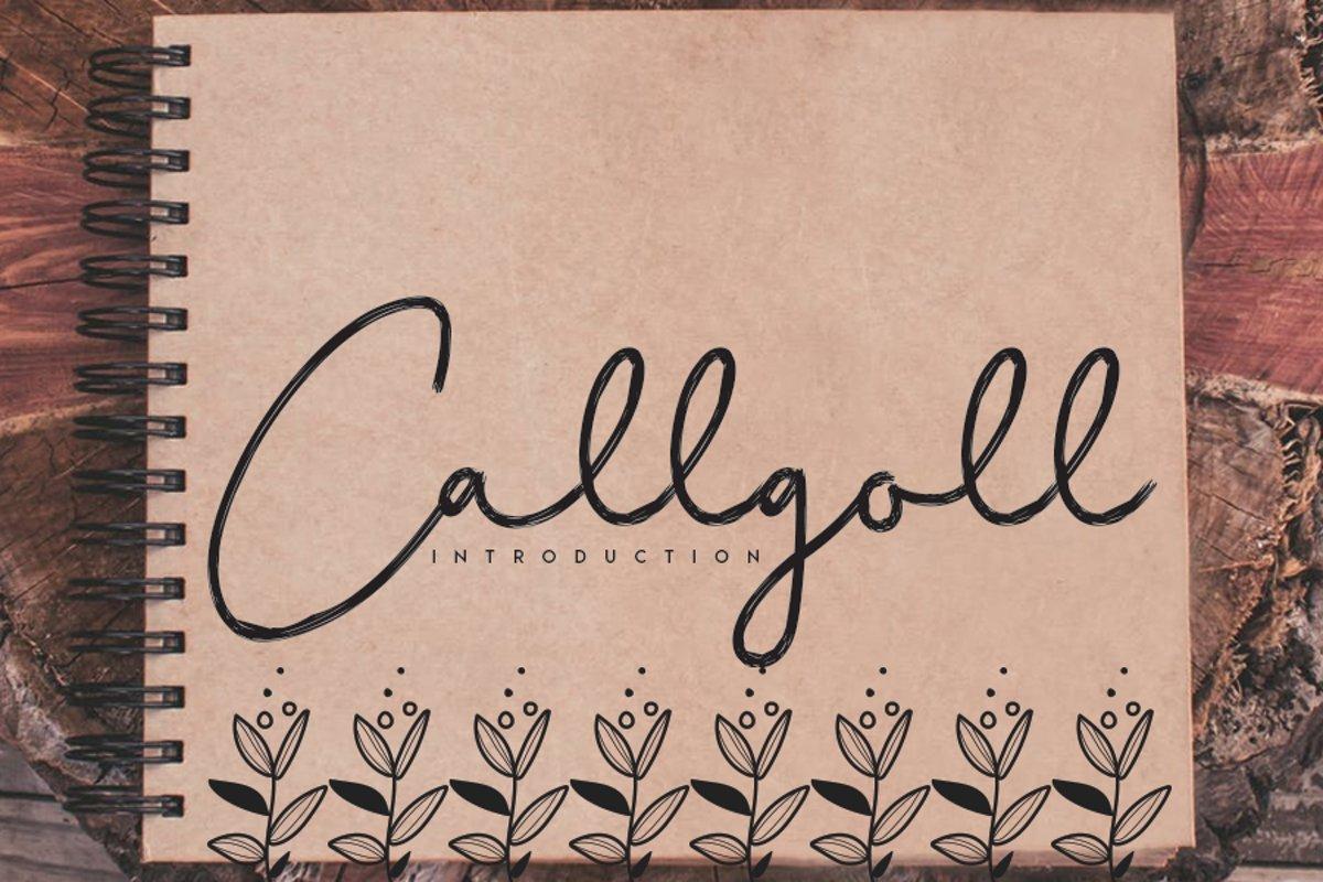 Callgoll example image 1