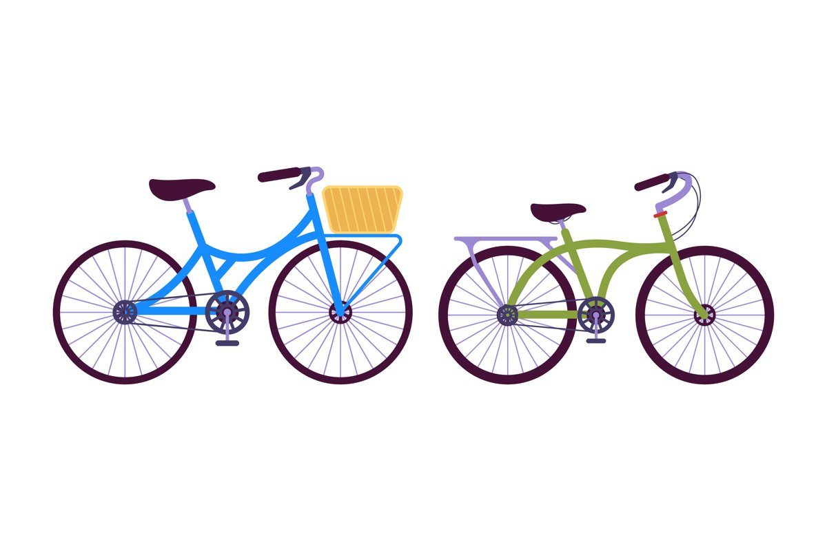 Bicycle Illustrations example image 1