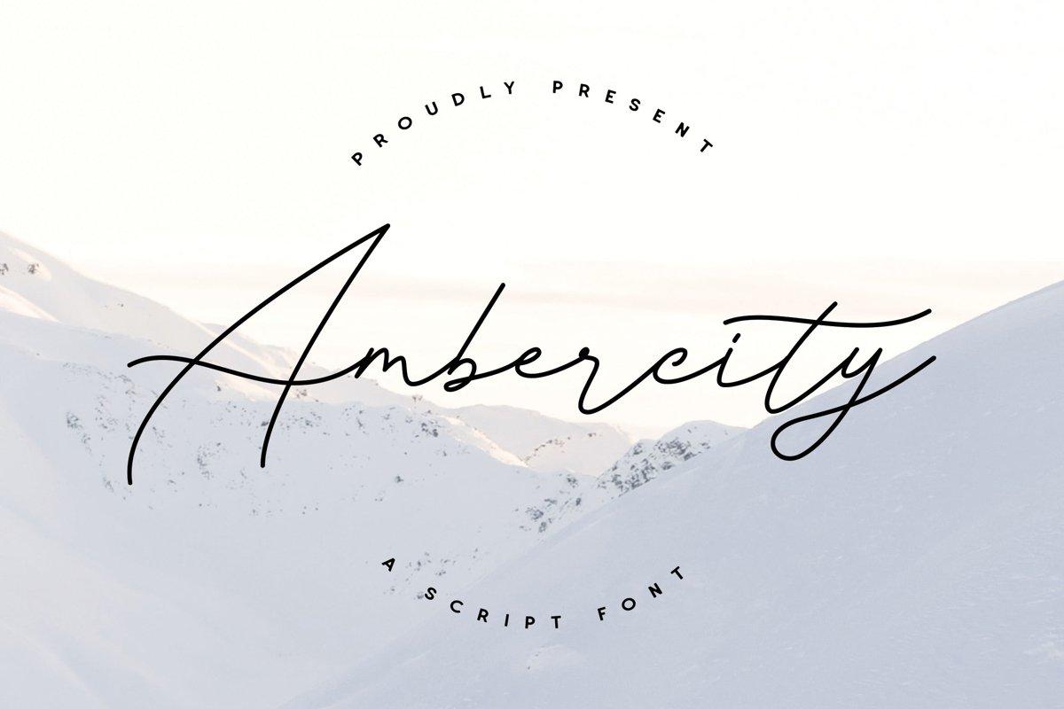 Ambercity example image 1