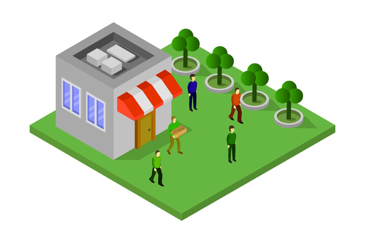 isometric shop example image 1