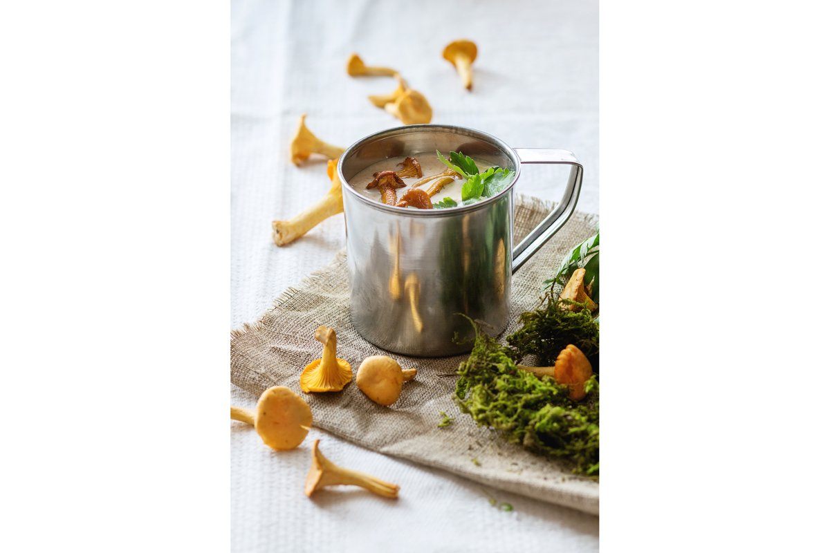 Chanterelle Cream soup example image 1