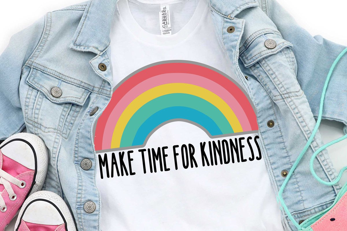 MAKE TIME FOR KINDNESS FONT example image 1