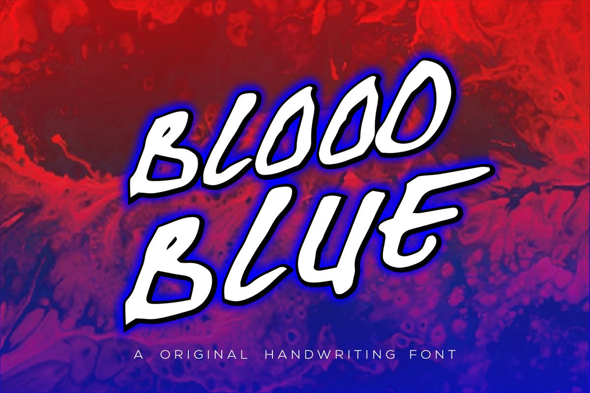 Blood Blue example image 1