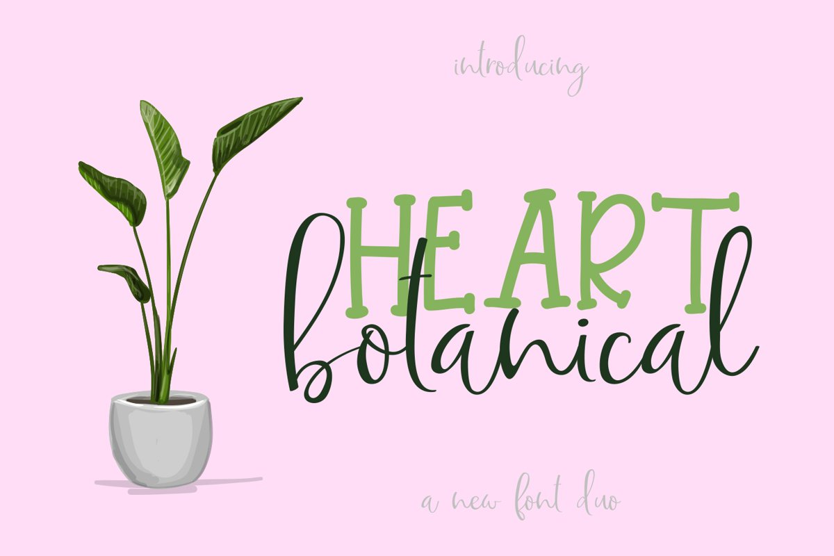 Botanical Heart example image 1