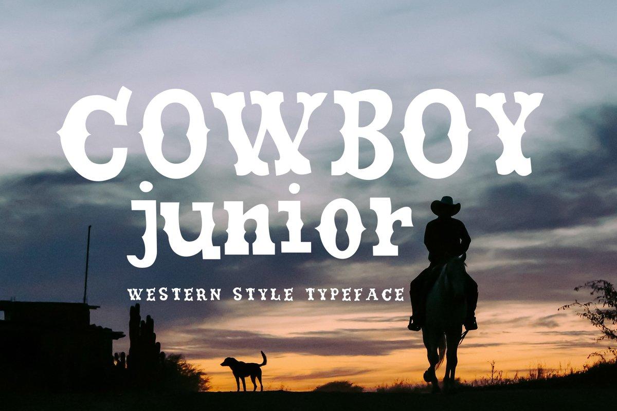 Cowboy Junior example image 1