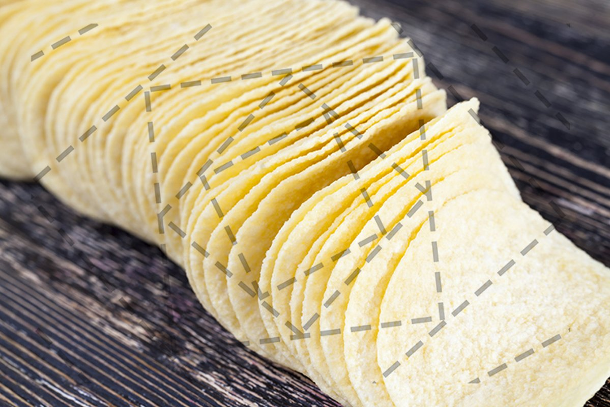 yellow potato chips example image 1