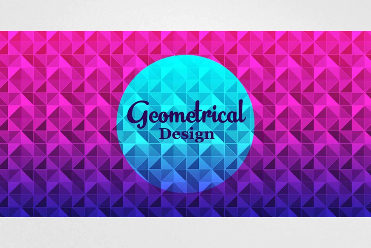 Abstract Geometrical Background example image 1