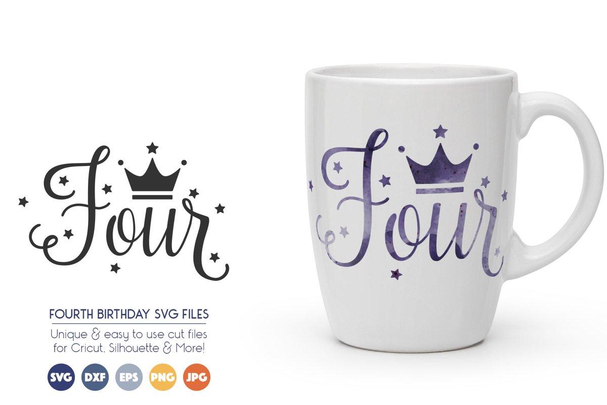 Third Birthday SVG Cut Files example image 1