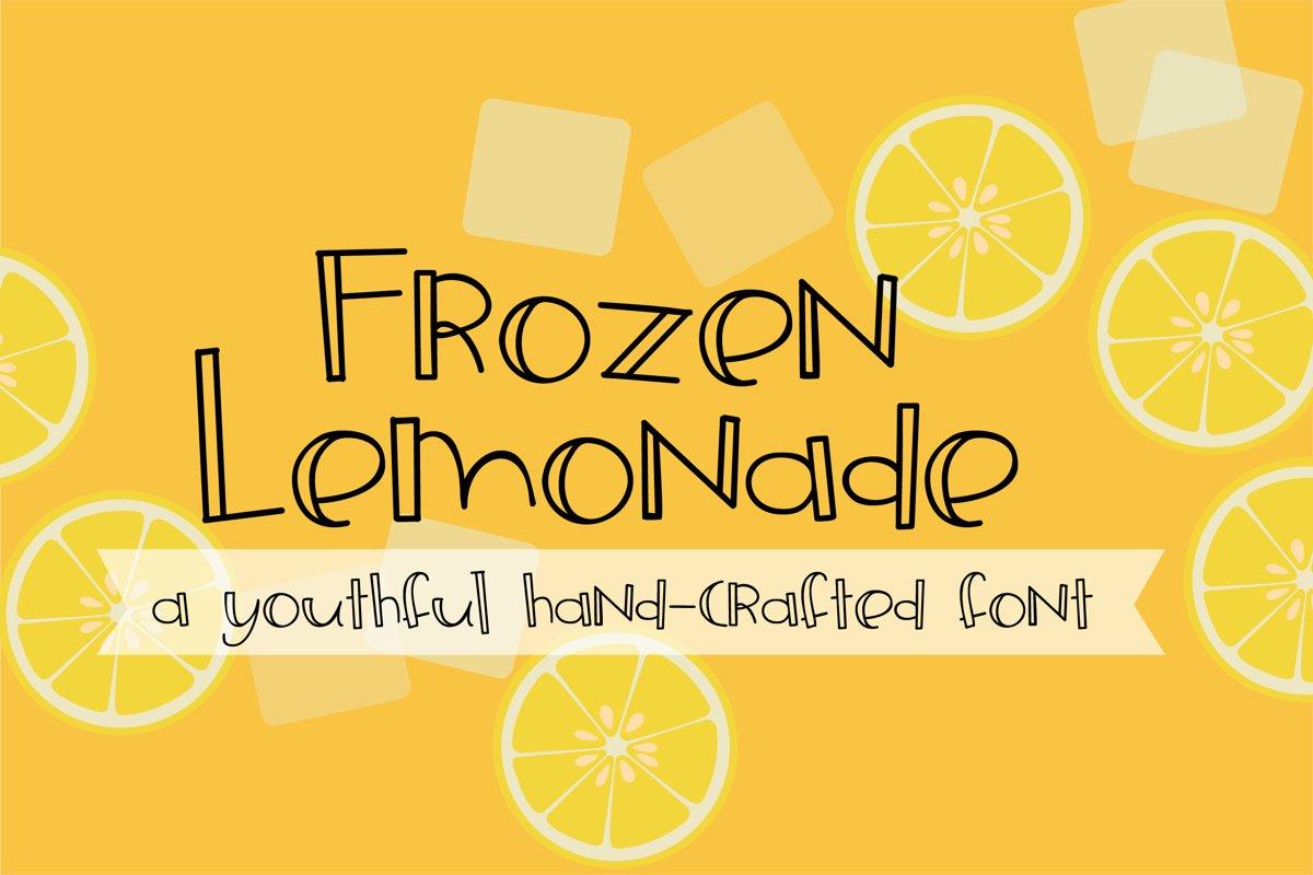 ZP Frozen Lemonade example image 1
