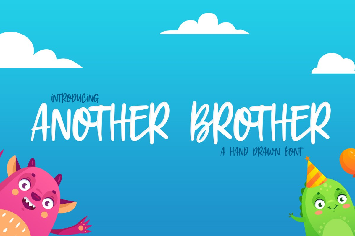 Another Brother Font example image 1