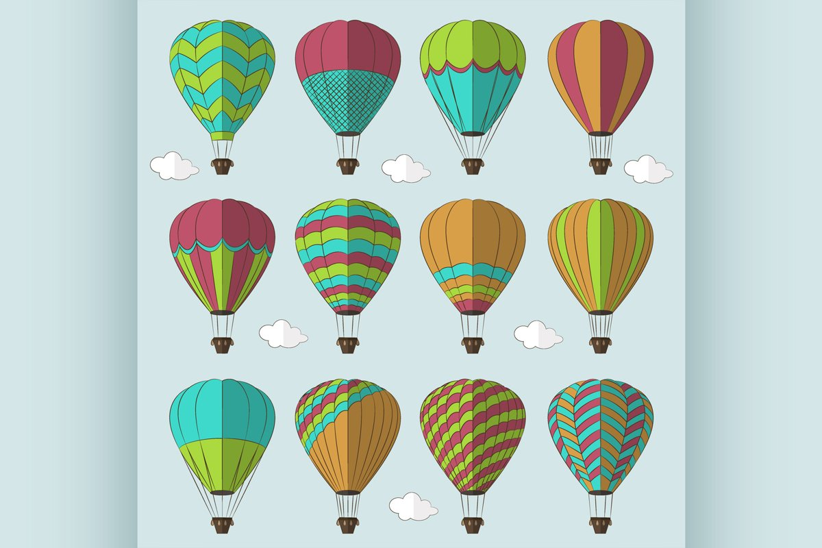 Air Balloons set example image 1