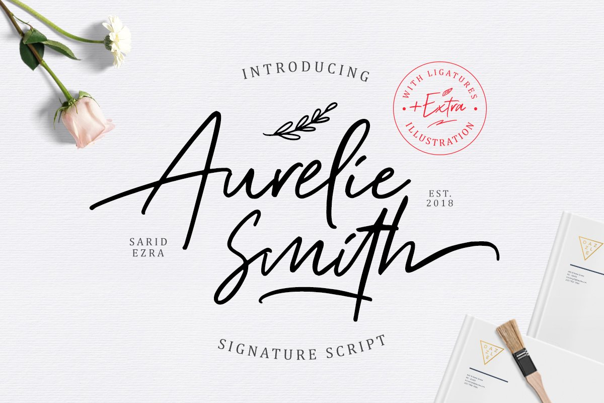 Aurelie Smith - Signature EXTRA example image 1