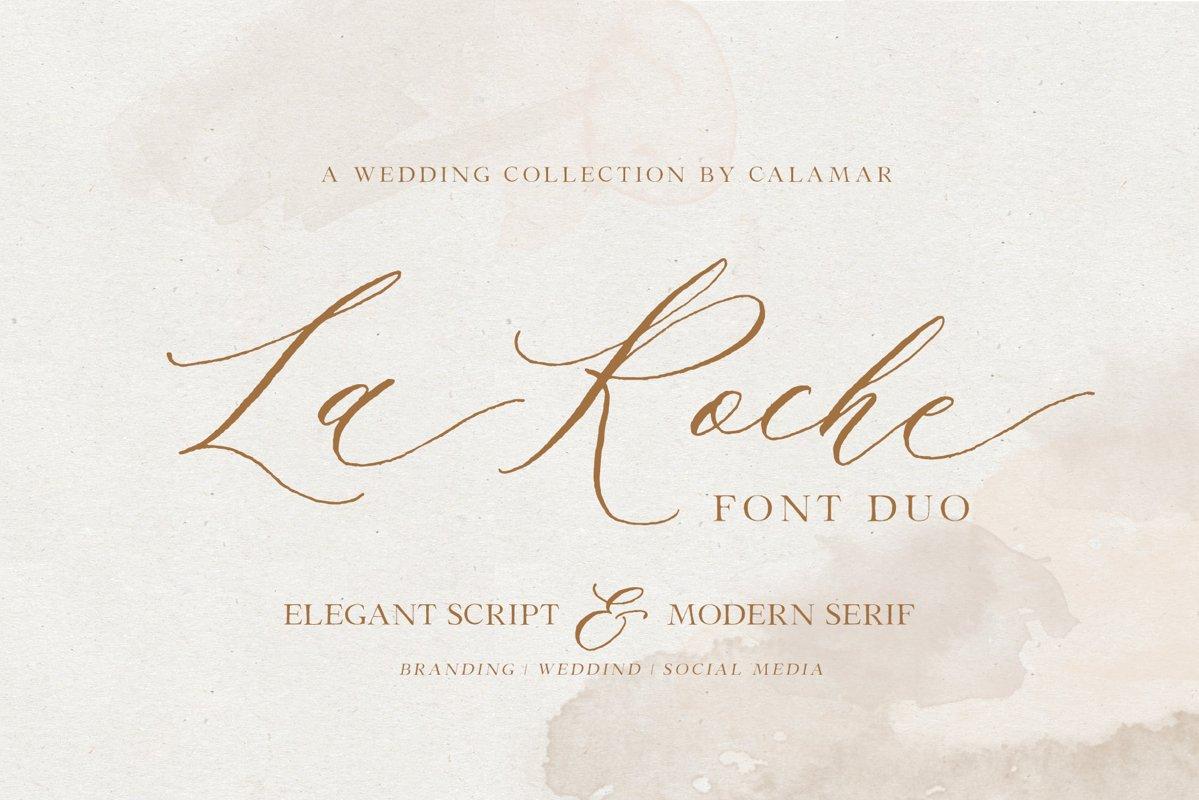 La Roche Font Duo example image 1