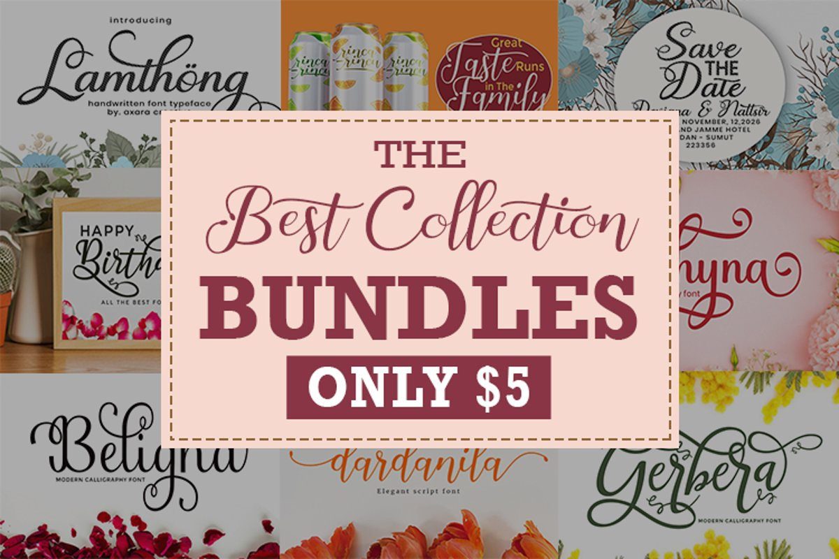 The Best Collection Bundles Vol. II Only $5 example image 1