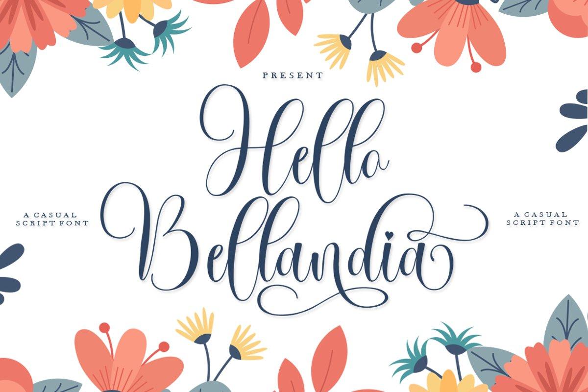 Hello Bellandia example image 1