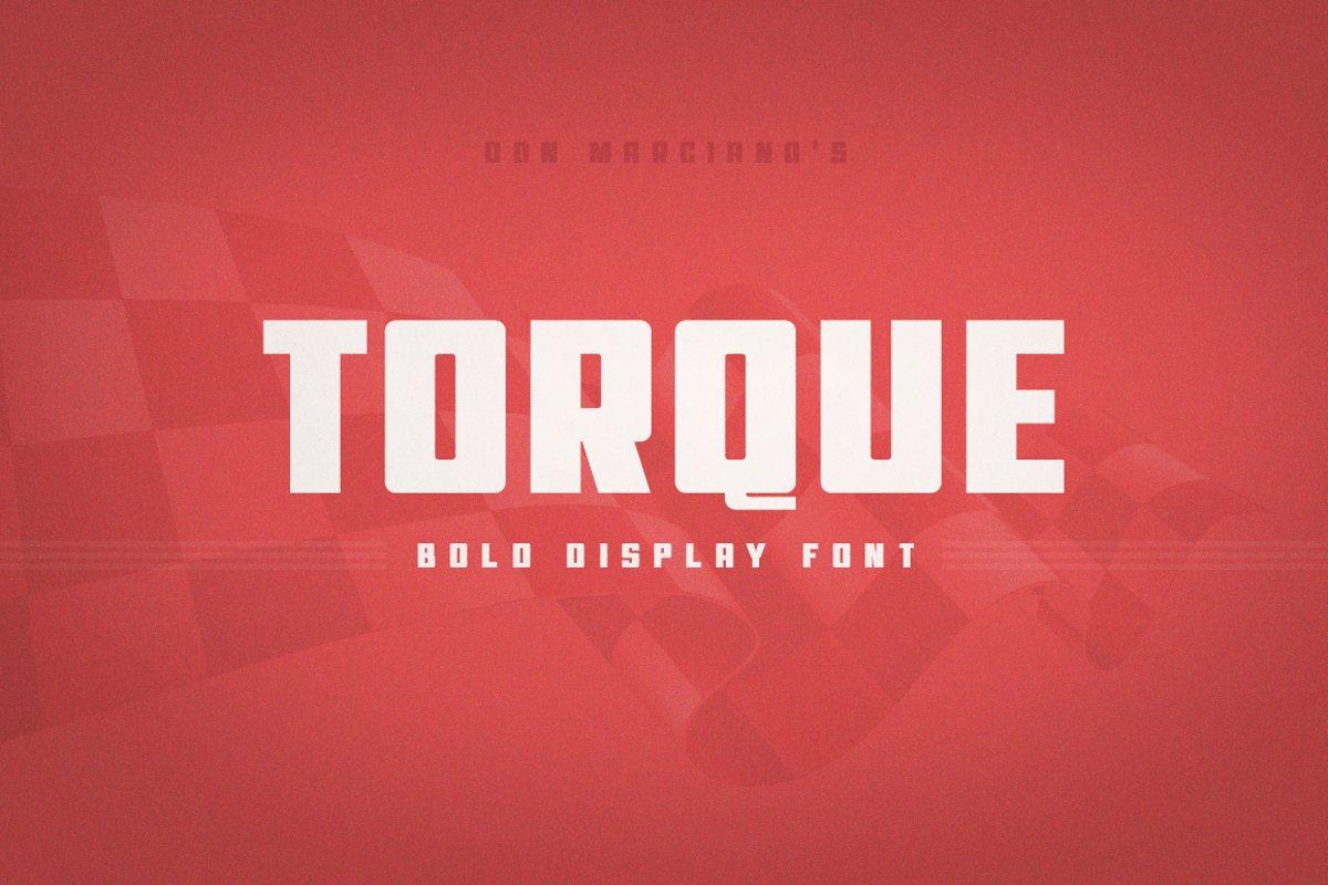 Torque Bold example image 1