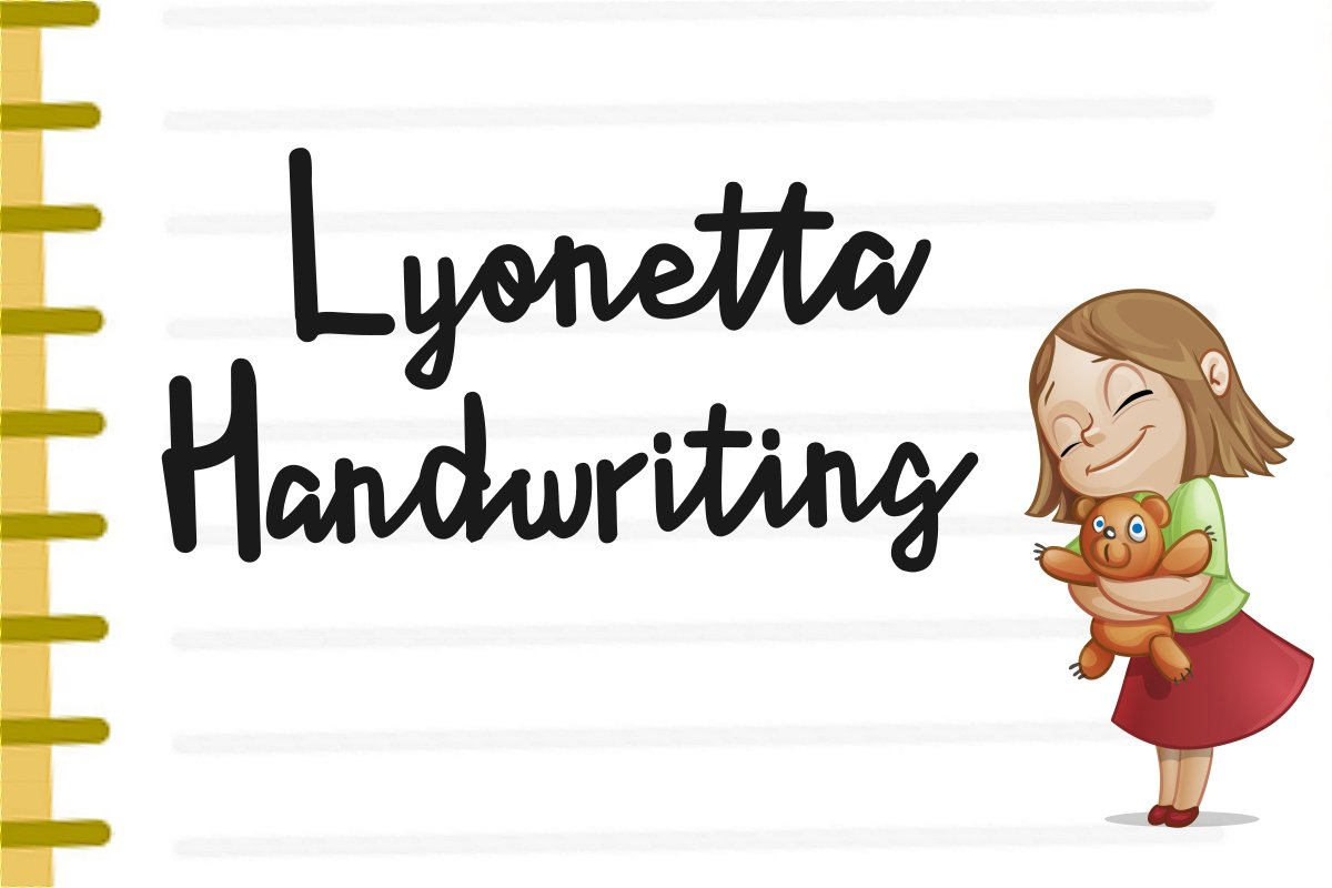 Lyonetta Handwriting example image 1
