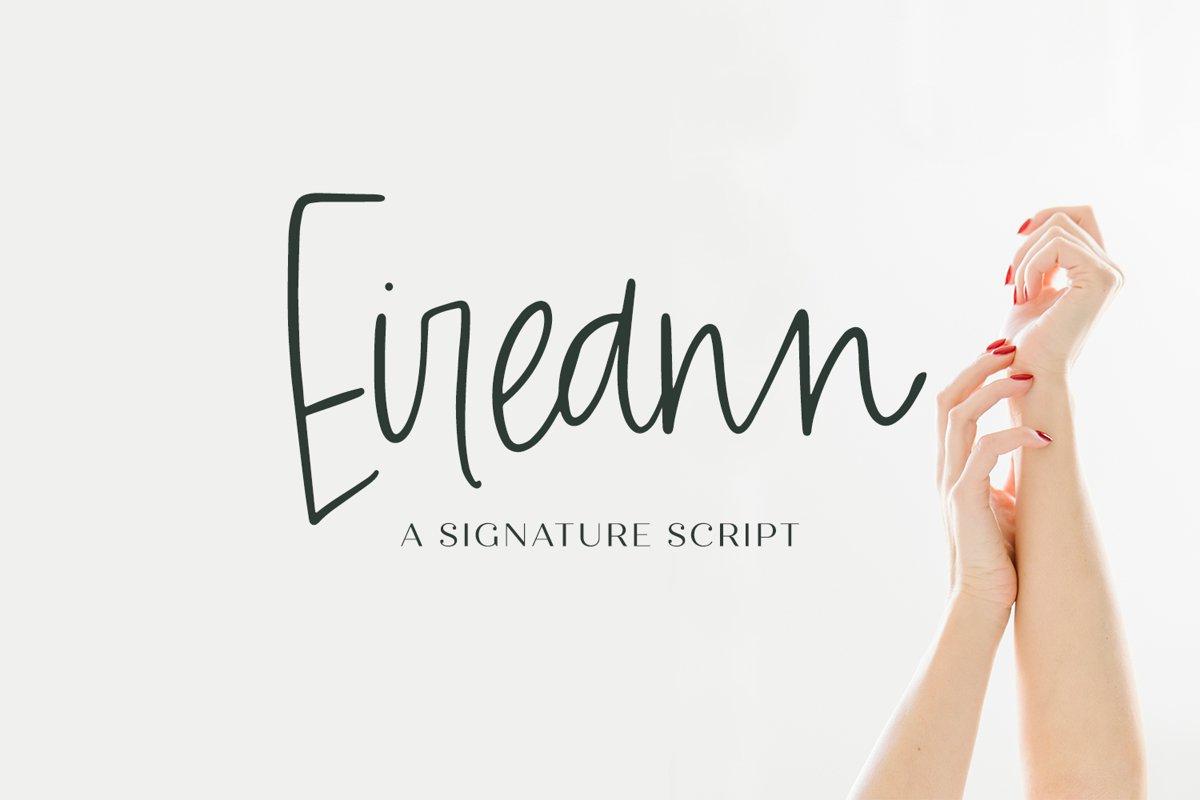 Eireann Signature Script example image 1