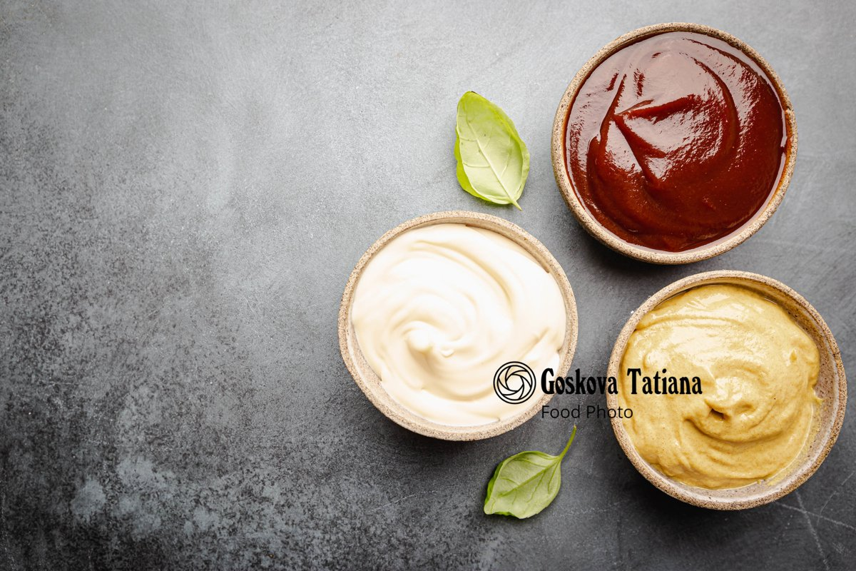 Photo of Classic set of sauces example image 1