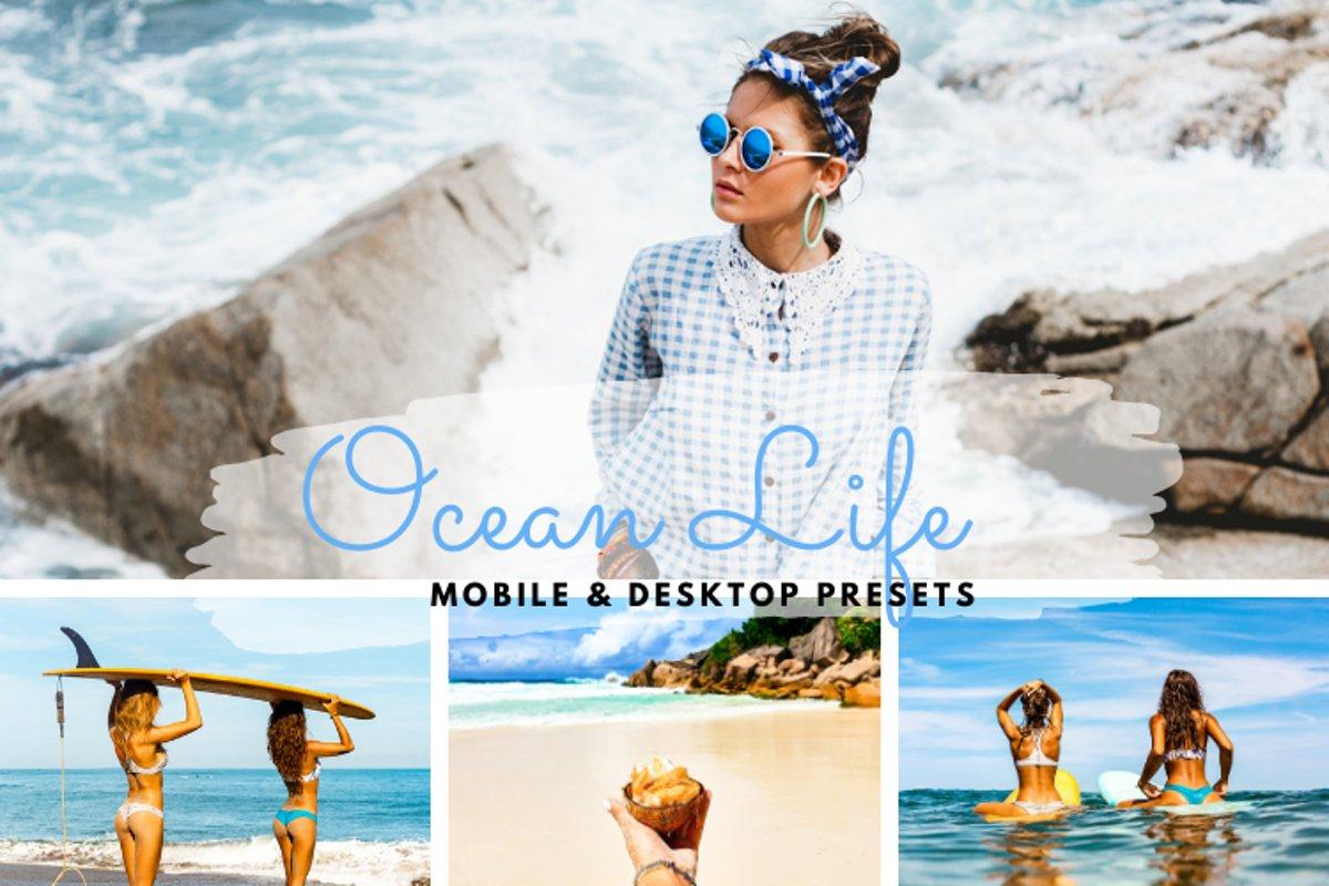 Ocean Life Mobile & Desktop Lightroom Presets example image 1