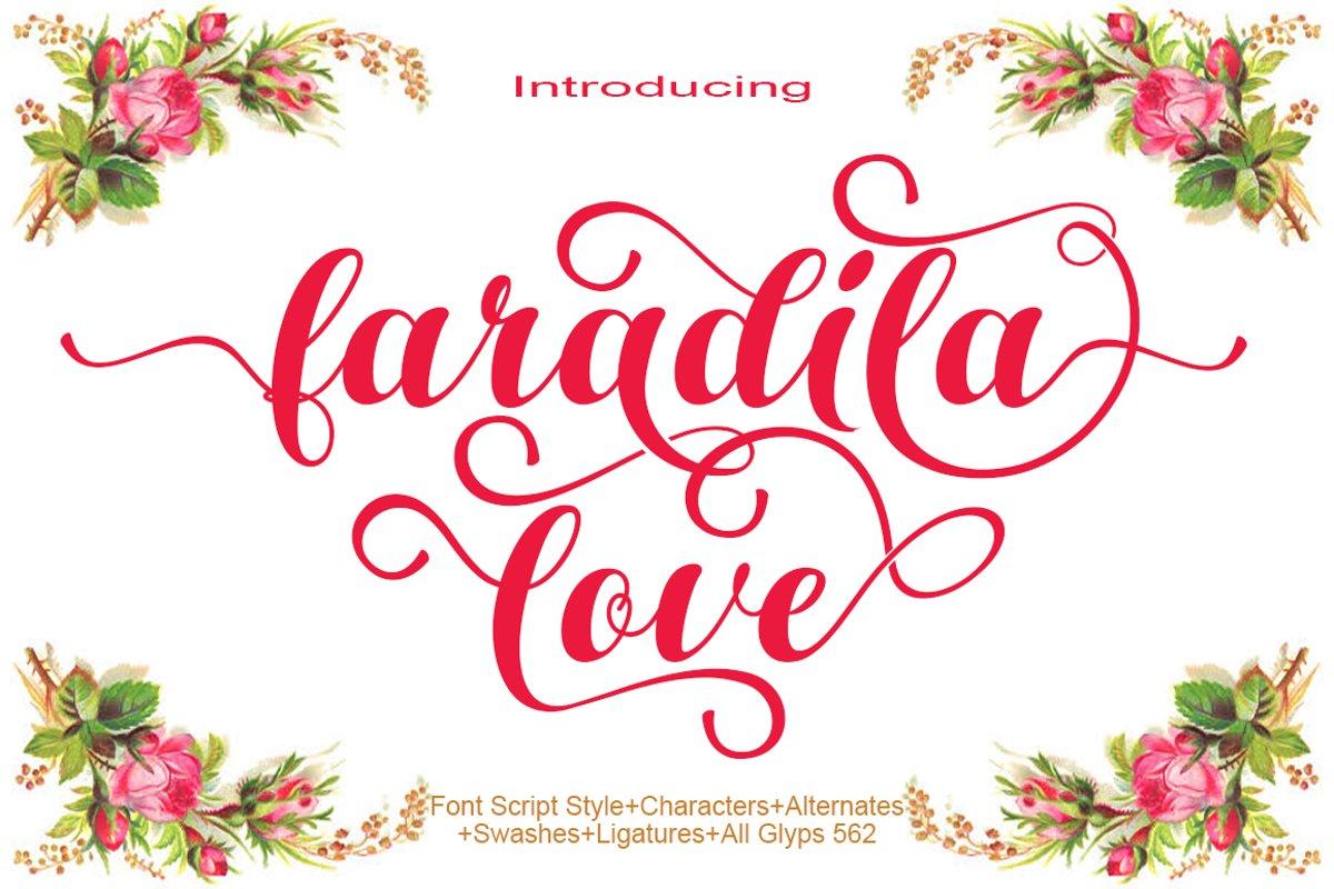 faradila love example image 1