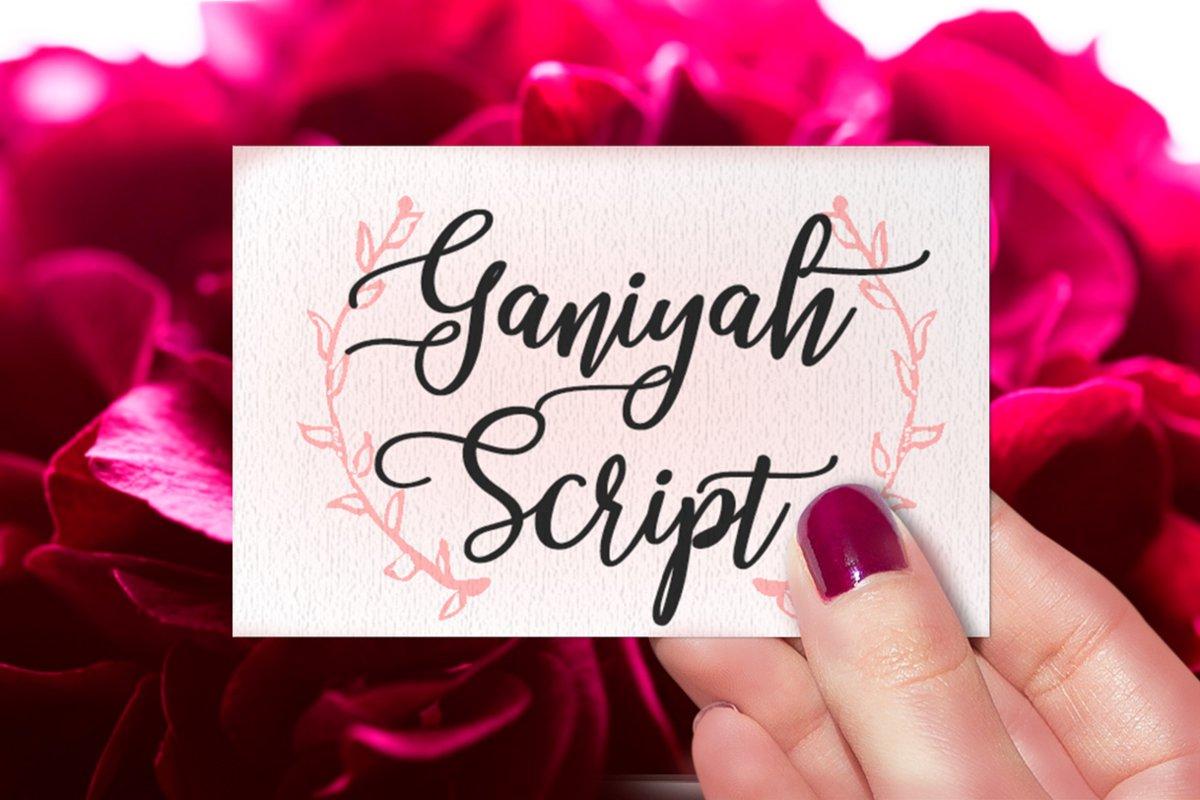 Ganiyah Script example image 1