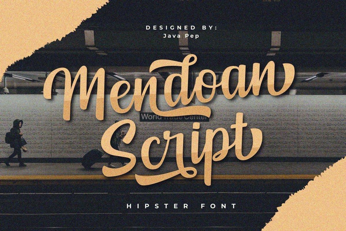 Mendoan Script example image 1