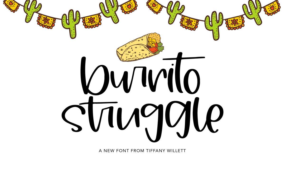 Burrito Struggle example image 1