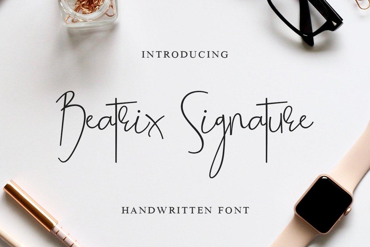 Beatrix Signature example image 1