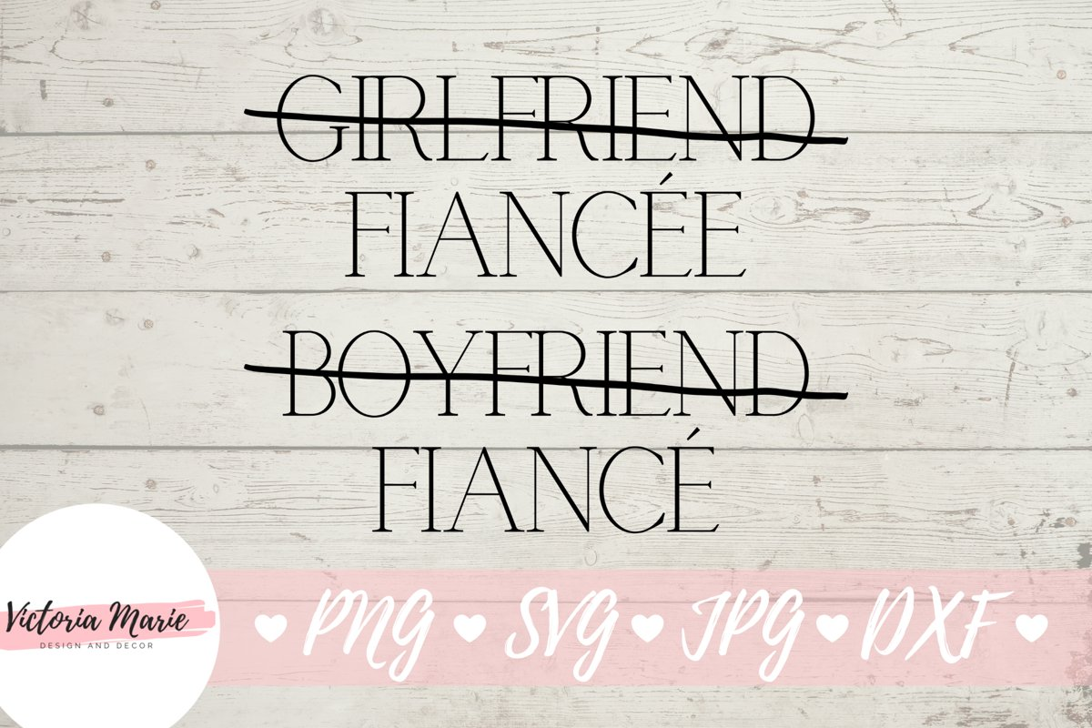 Fiancee svg, Fiance svg, Engaged Couple Shirt Design example image 1