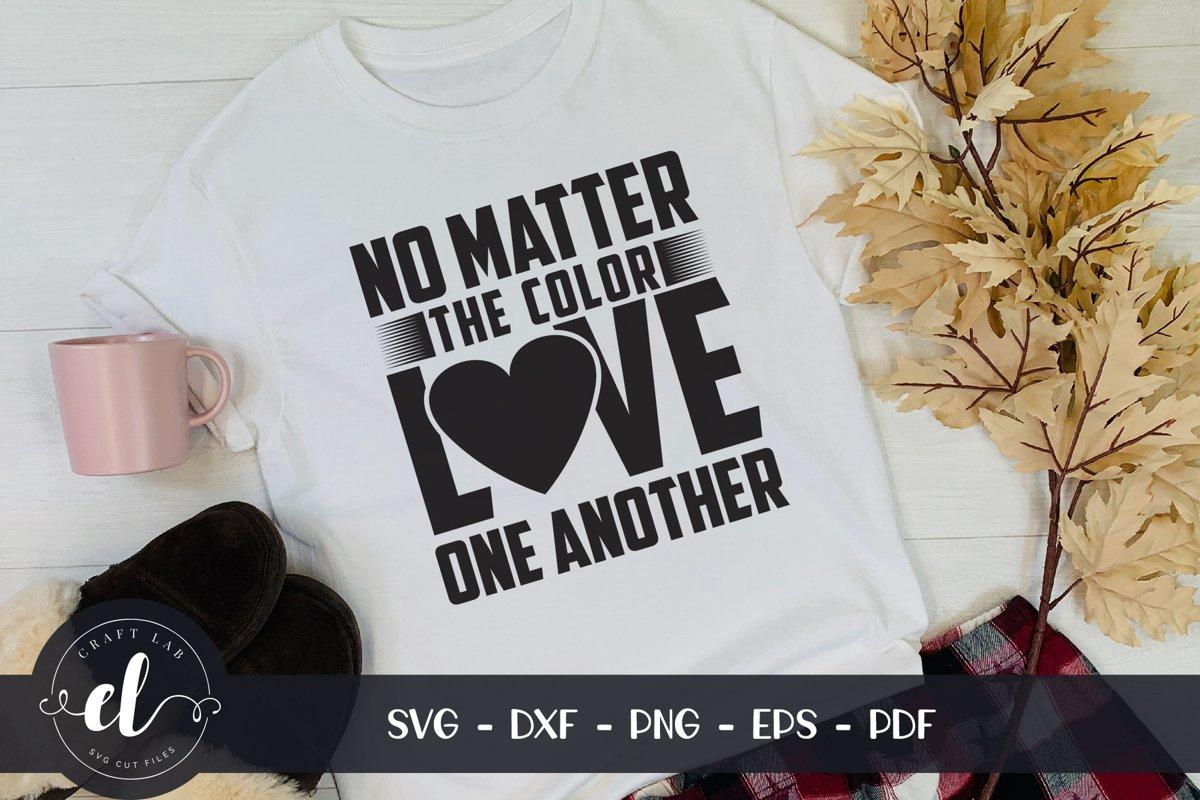 Black Lives Matter SVG, BLM Quote SVG Cut File example image 1