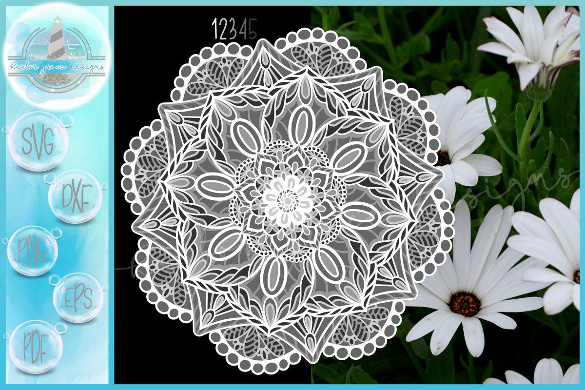 Download 3d Layered Design 3d Floral Mandala Flower Mandala Svg 735778 Cut Files Design Bundles