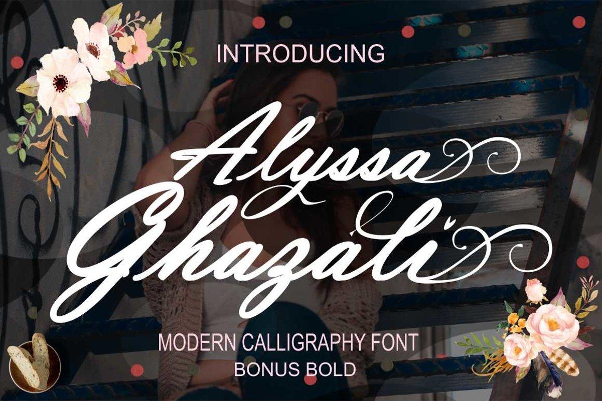Alyssa Ghazali example image 1