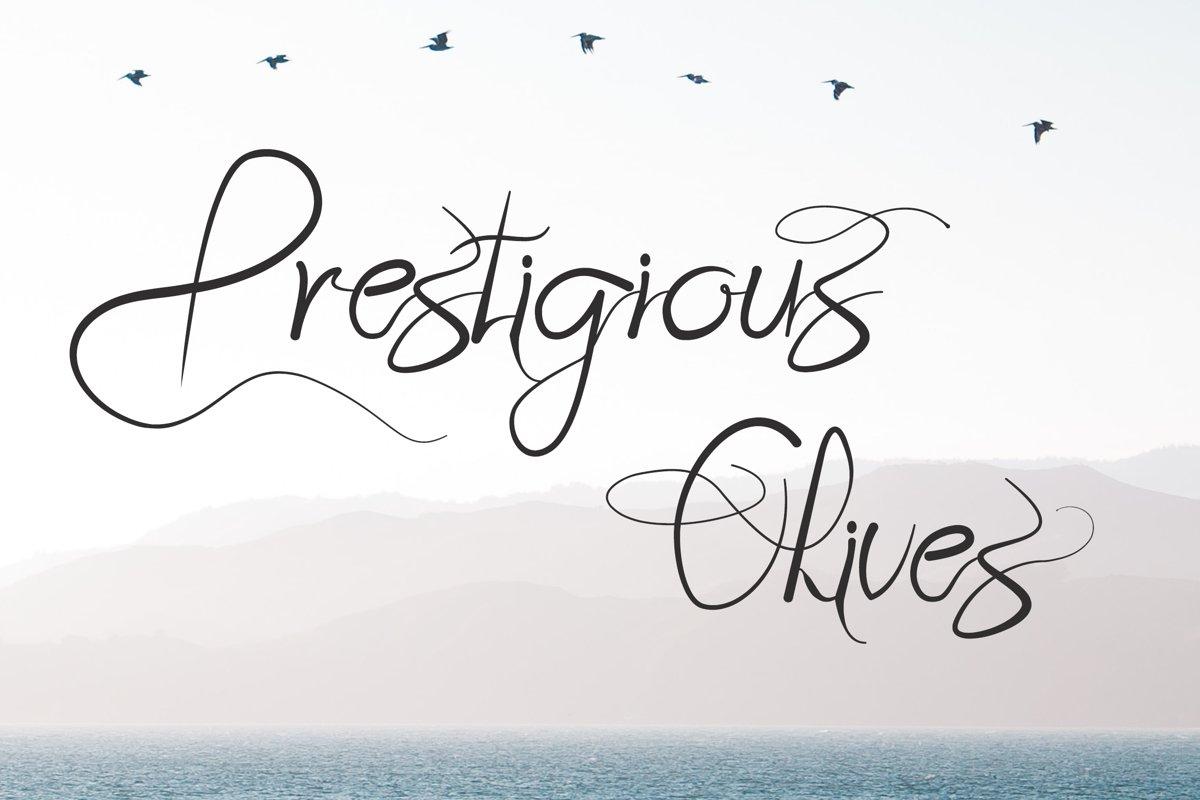 Prestigious Olives example image 1