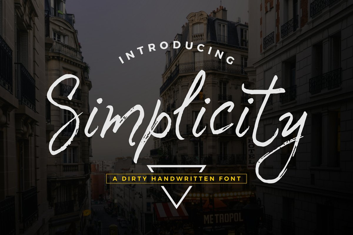 Simplicity Font example image 1