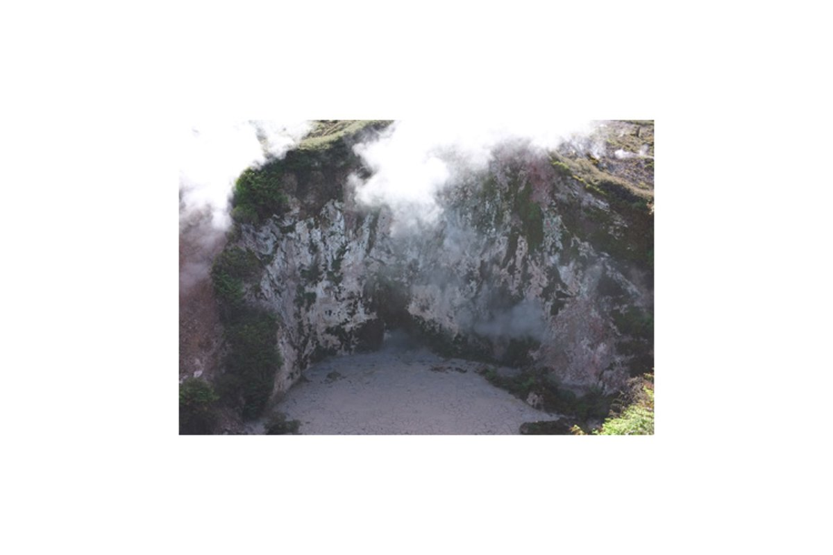 Photo of the Craters of the Moon Lake Taupo New Zealand example image 1