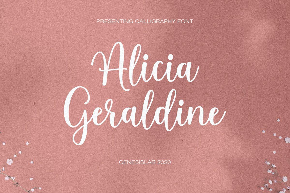 Alicia Geraldine example image 1