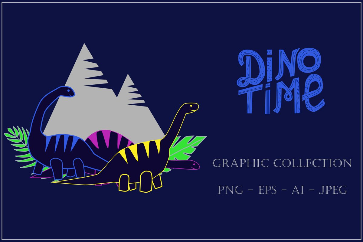 Dinosaur Time - Graphic Collection example image 1
