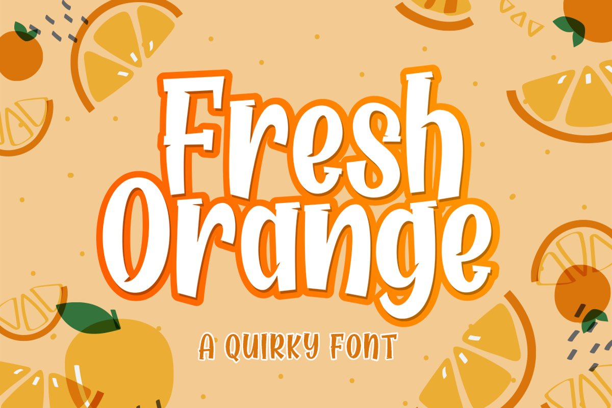 Fresh Orange example image 1