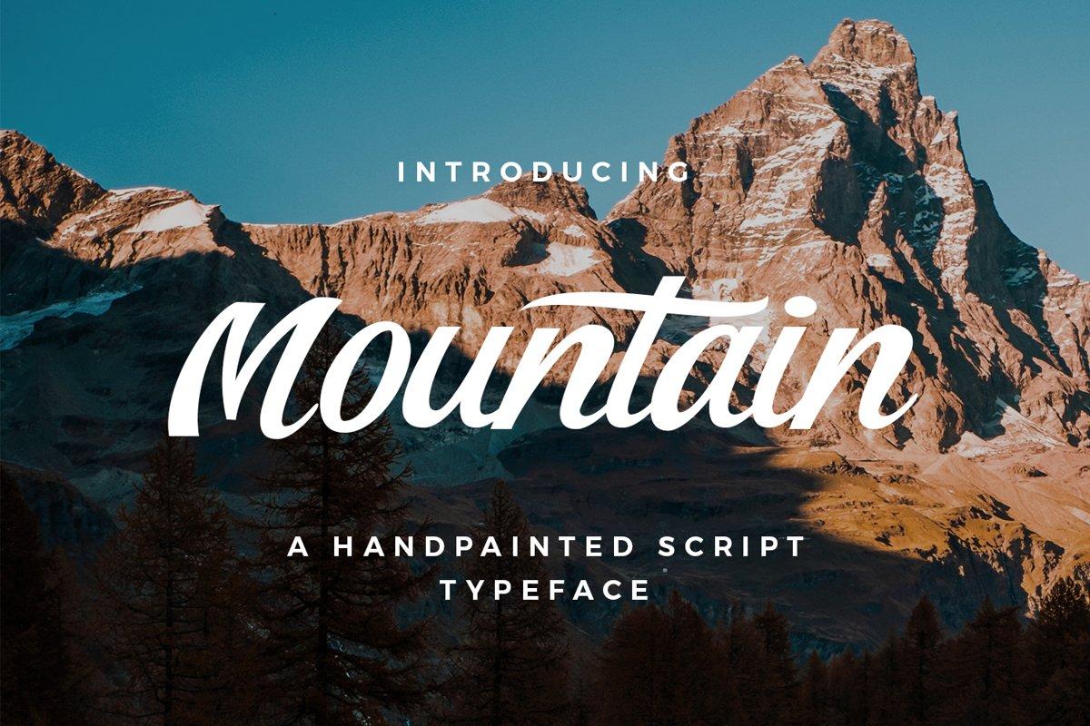 Mountain example image 1