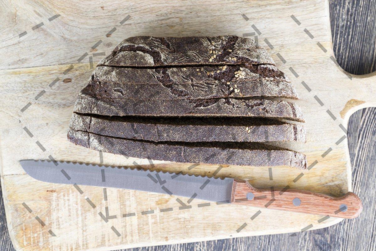 black rye bread example image 1