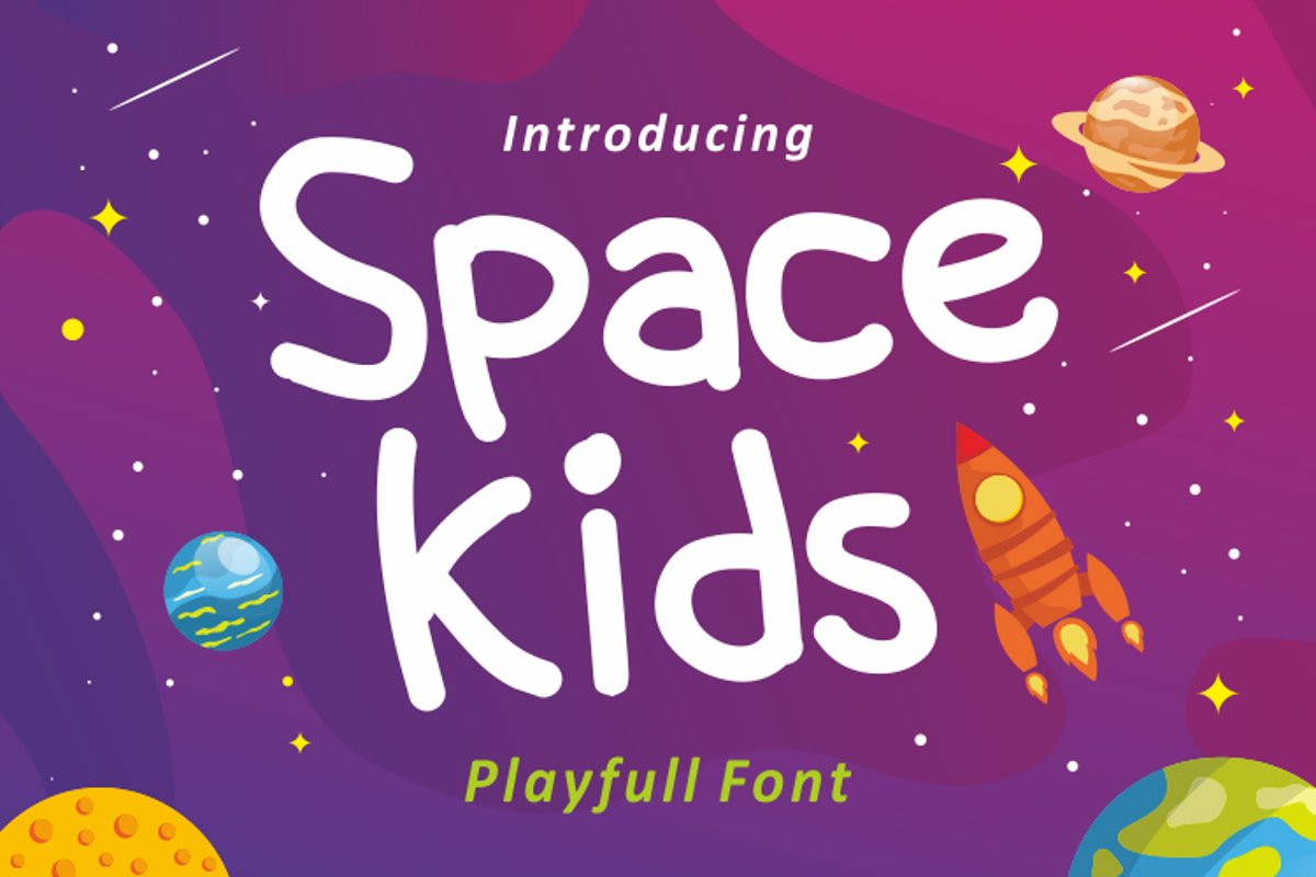 Space kids example image 1